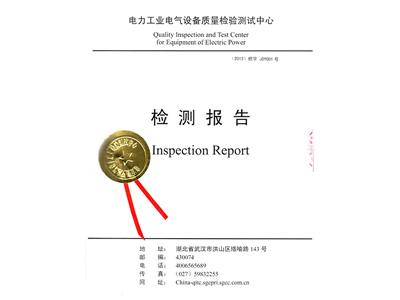 中压检测报告
